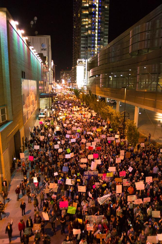 Thusday, November 10th, Downtown Denver CO