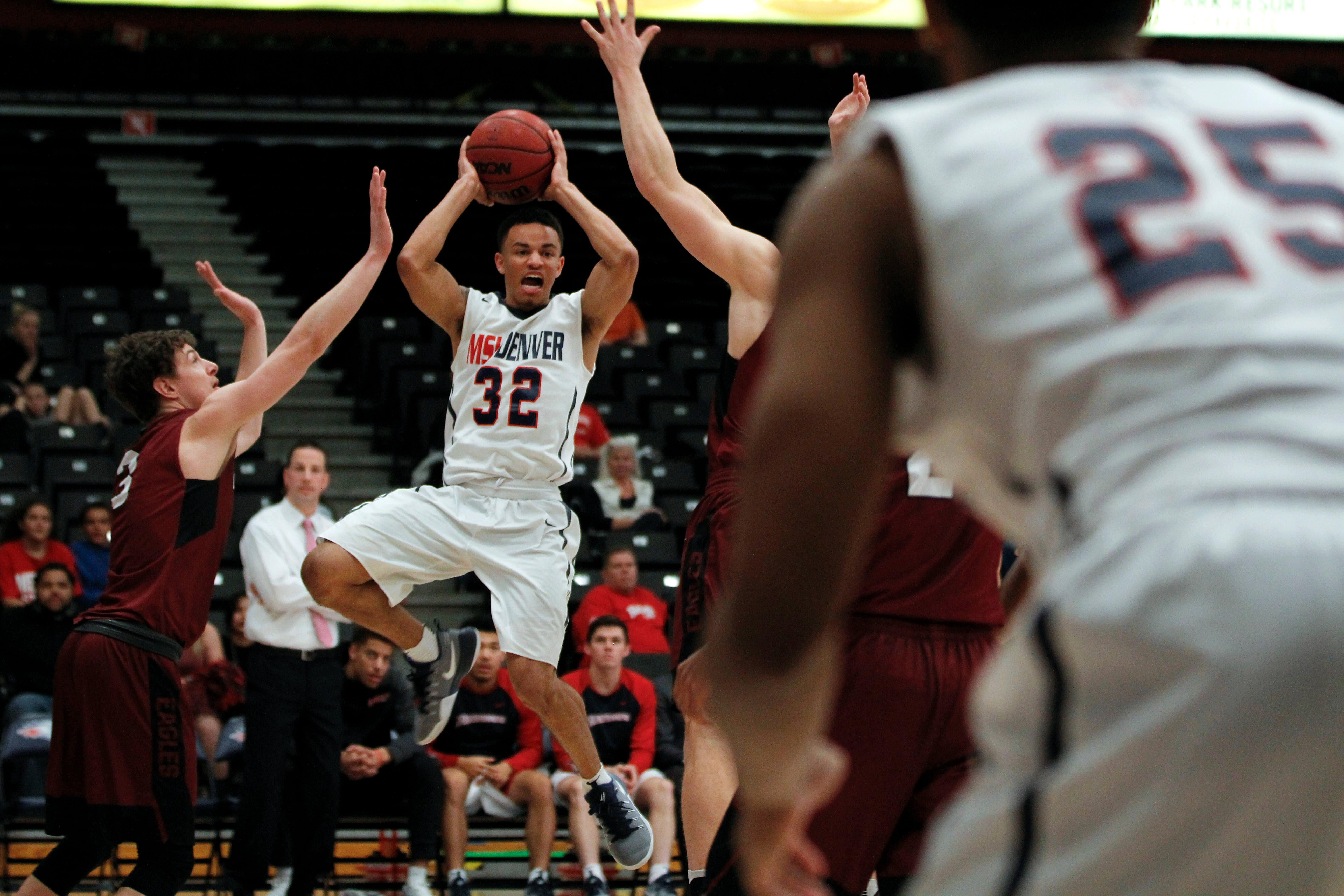 MSU Denver Roadrunner Basketball (Mens)